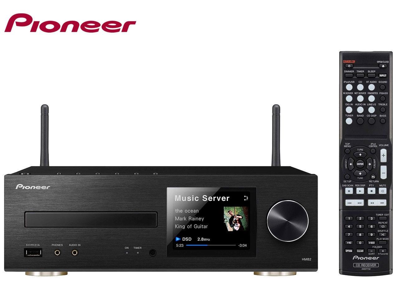 PIONEER XC-HM82-K + 400 Kč na dárky nebo další nákup | CHAT on-line podpora PO-PÁ 8-22.00!!