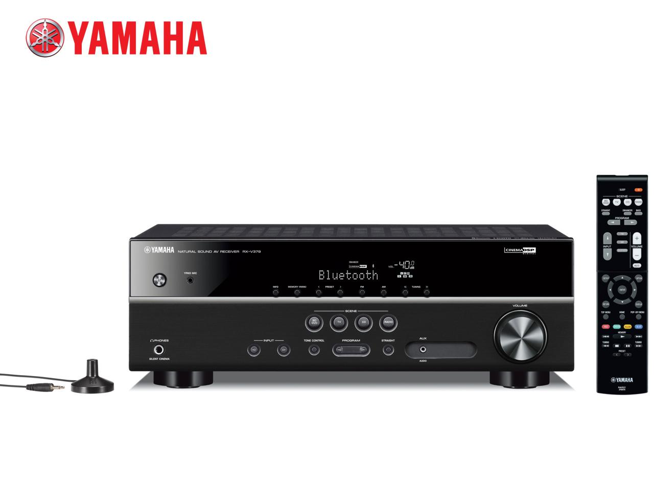YAMAHA RX-V379 B + 400 Kč na dárky nebo další nákup | CHAT on-line podpora PO-PÁ 8-22.00!!