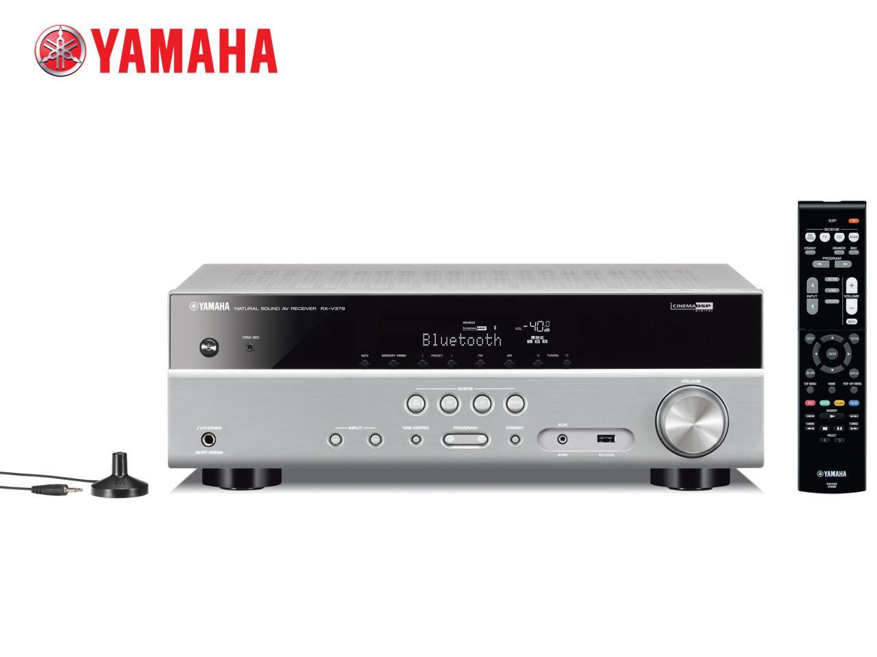 YAMAHA RX-V379 S + 300 Kč na dárky nebo další nákup | CHAT on-line podpora PO-PÁ 8-22.00!!
