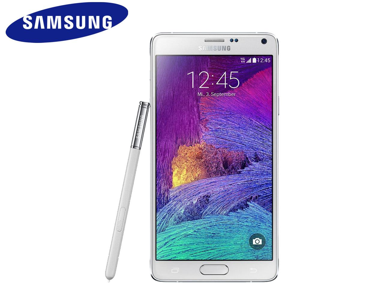 SAMSUNG Galaxy Note 4 (SM-N910F), 32 GB, bílý + 400 Kč na dárky nebo další nákup | CHAT on-line podpora PO-PÁ 8-22.00!!