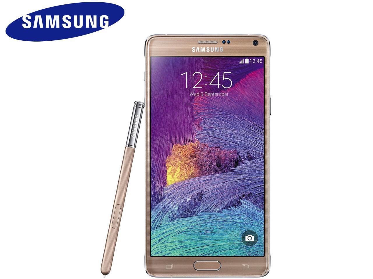 SAMSUNG Galaxy Note 4 (SM-N910F), 32 GB, bronzový, bulk balení + 400 Kč na dárky nebo další nákup | CHAT on-line podpora PO-PÁ 8-22.00!!