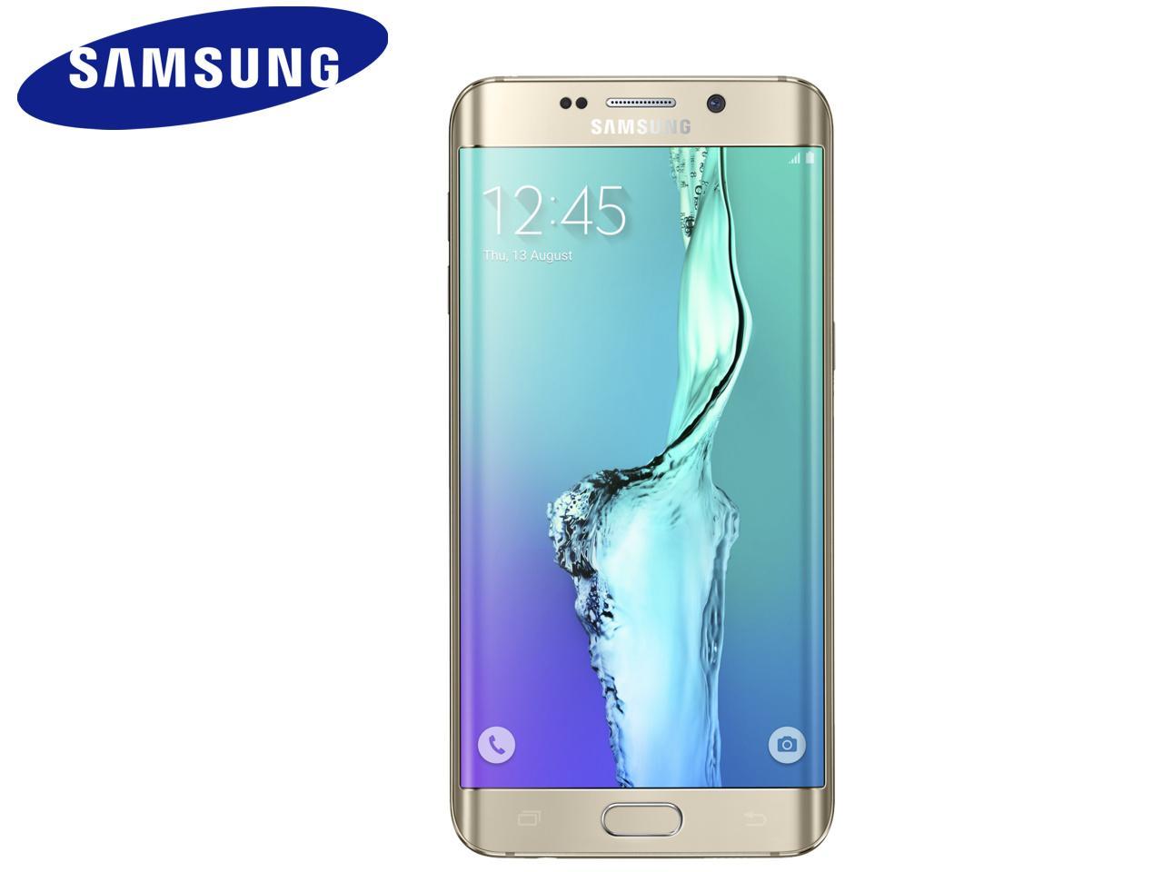 SAMSUNG Galaxy S6 Edge+ (SM-G928F), 32 GB, zlatý + 400 Kč na dárky nebo další nákup | CHAT on-line podpora PO-PÁ 8-22.00!!