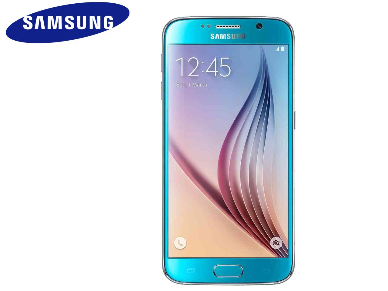 SAMSUNG Galaxy S6 (SM-G920F), 64 GB, modrý + 500 Kč na dárky nebo další nákup | CHAT on-line podpora PO-PÁ 8-22.00!!