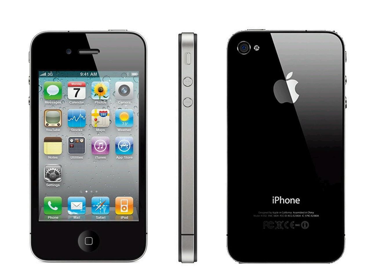 APPLE iPhone 4, 32 GB, černý, bulk balení + 100 Kč na dárky nebo další nákup | CHAT on-line podpora PO-PÁ 8-22.00!!