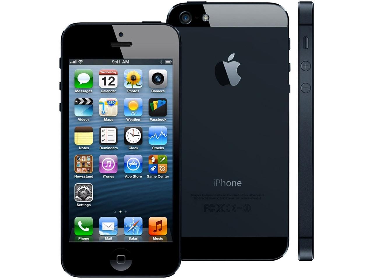 Apple iPhone 5, 64 GB, černý, bulk balení + 300 Kč na dárky nebo další nákup | CHAT on-line podpora PO-PÁ 8-22.00!!