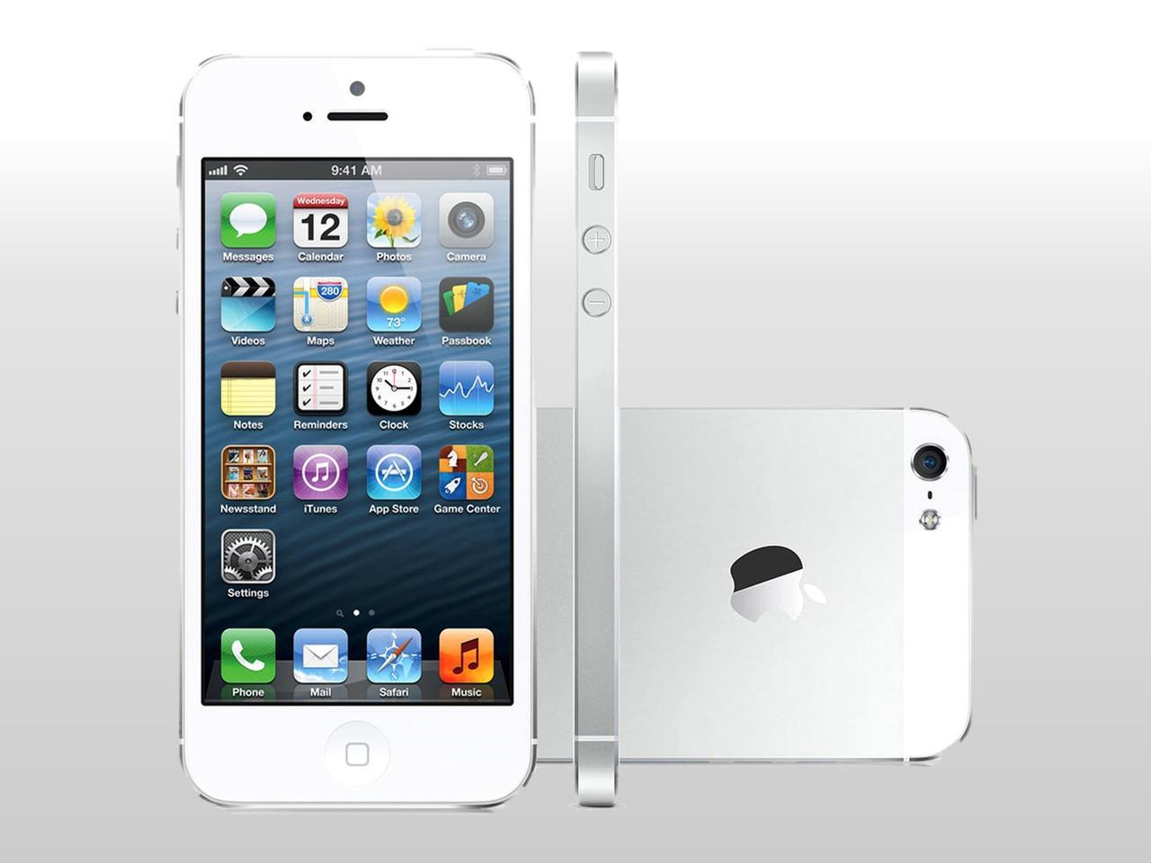 APPLE iPhone 5, 16 GB, bílý, bulk balení + 200 Kč na dárky nebo další nákup | CHAT on-line podpora PO-PÁ 8-22.00!!