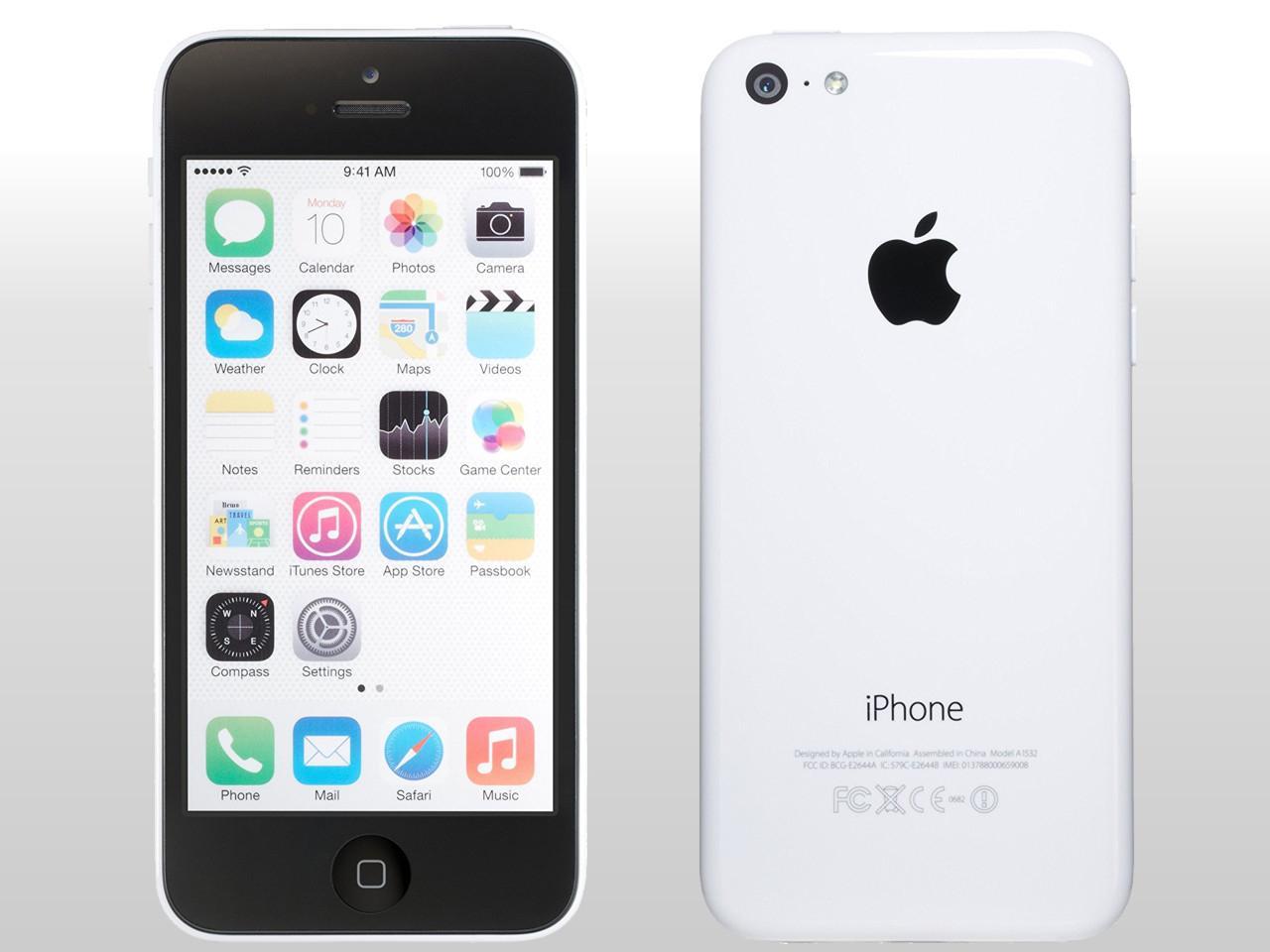 APPLE iPhone 5C, 16 GB, bílý, bulk balení + 200 Kč na dárky nebo další nákup | CHAT on-line podpora PO-PÁ 8-22.00!!
