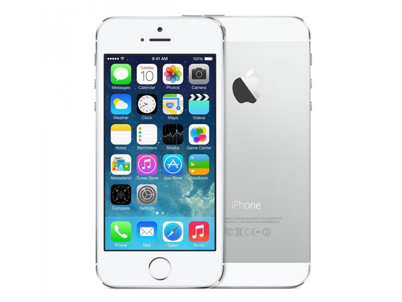 APPLE iPhone 5S, 64 GB, stříbrný