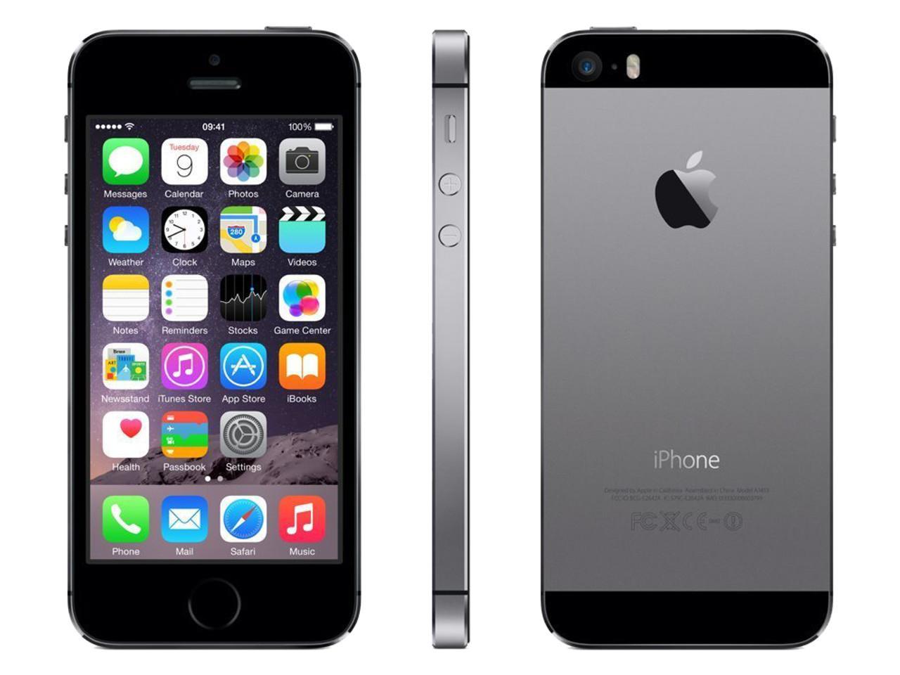 APPLE iPhone 5S, 16 GB, šedý + 300 Kč na dárky nebo další nákup | CHAT on-line podpora PO-PÁ 8-22.00!!