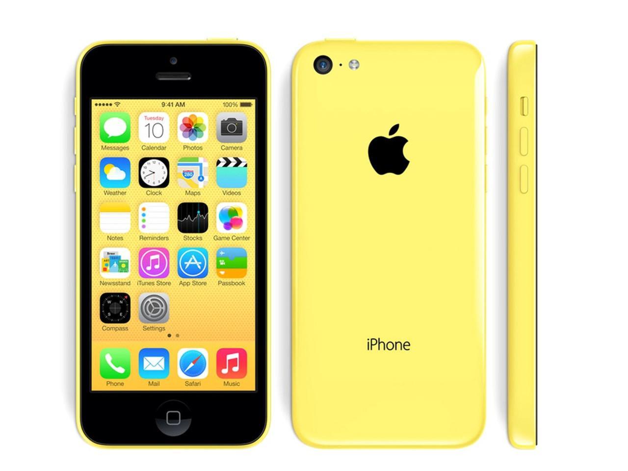 APPLE iPhone 5C, 16 GB, žlutý, bulk balení + 200 Kč na dárky nebo další nákup | CHAT on-line podpora PO-PÁ 8-22.00!!