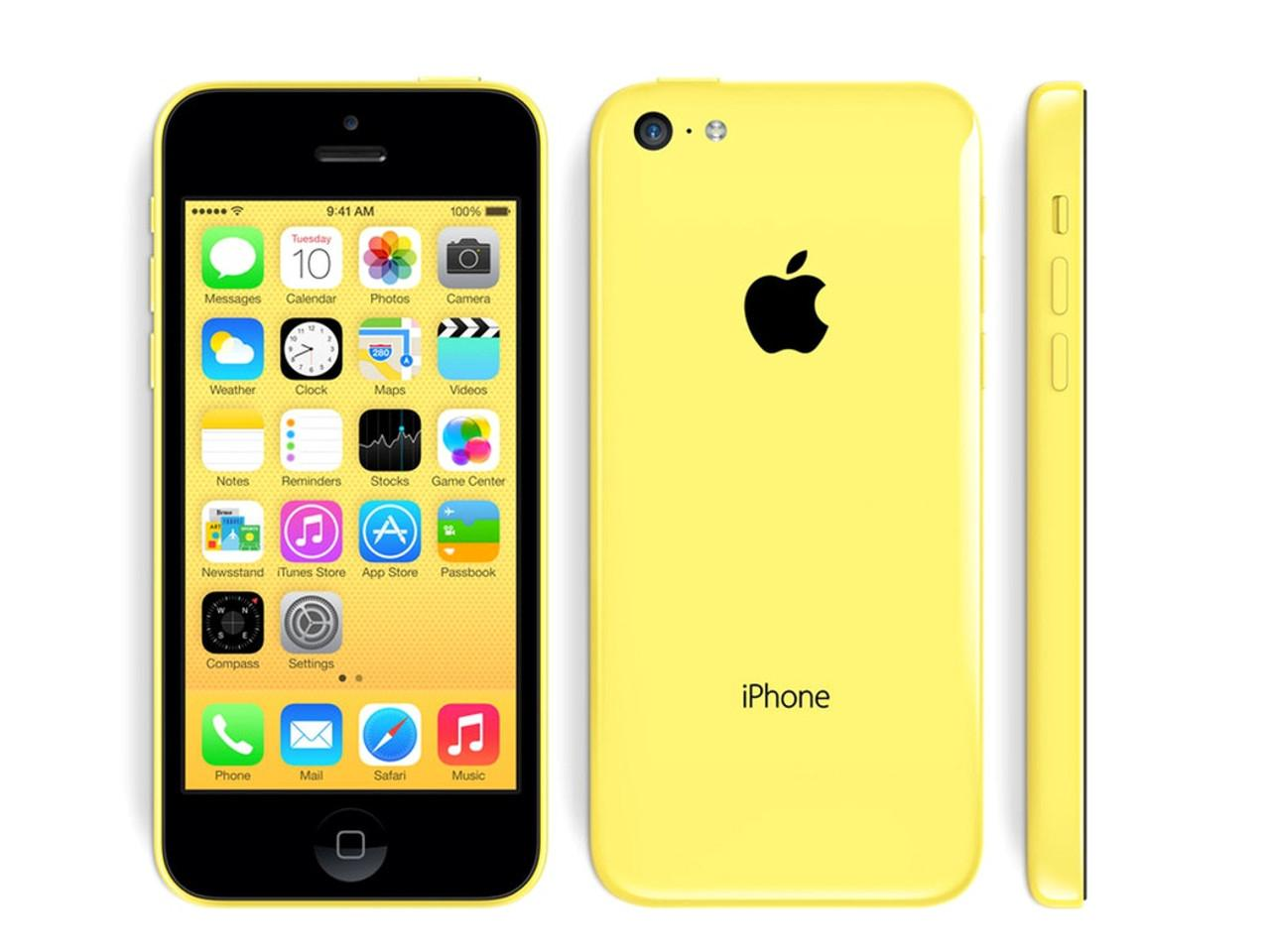 APPLE iPhone 5C, 32 GB, žlutý, bulk balení
