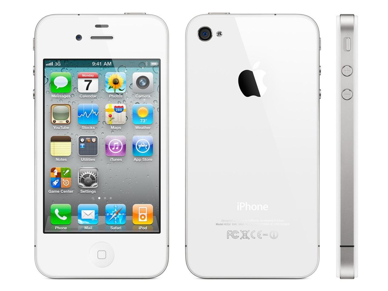 Apple iPhone 4, 32 GB, bílý, bulk balení + 200 Kč na dárky nebo další nákup | CHAT on-line podpora PO-PÁ 8-22.00!!
