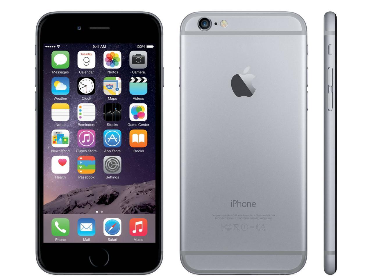APPLE iPhone 6, 16 GB, šedý, bulk balení + 400 Kč na dárky nebo další nákup | CHAT on-line podpora PO-PÁ 8-22.00!!