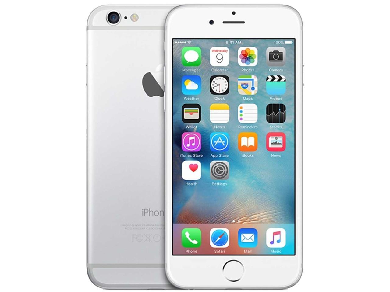 APPLE iPhone 6, 64 GB, stříbrný, bulk balení + 400 Kč na dárky nebo další nákup | CHAT on-line podpora PO-PÁ 8-22.00!!