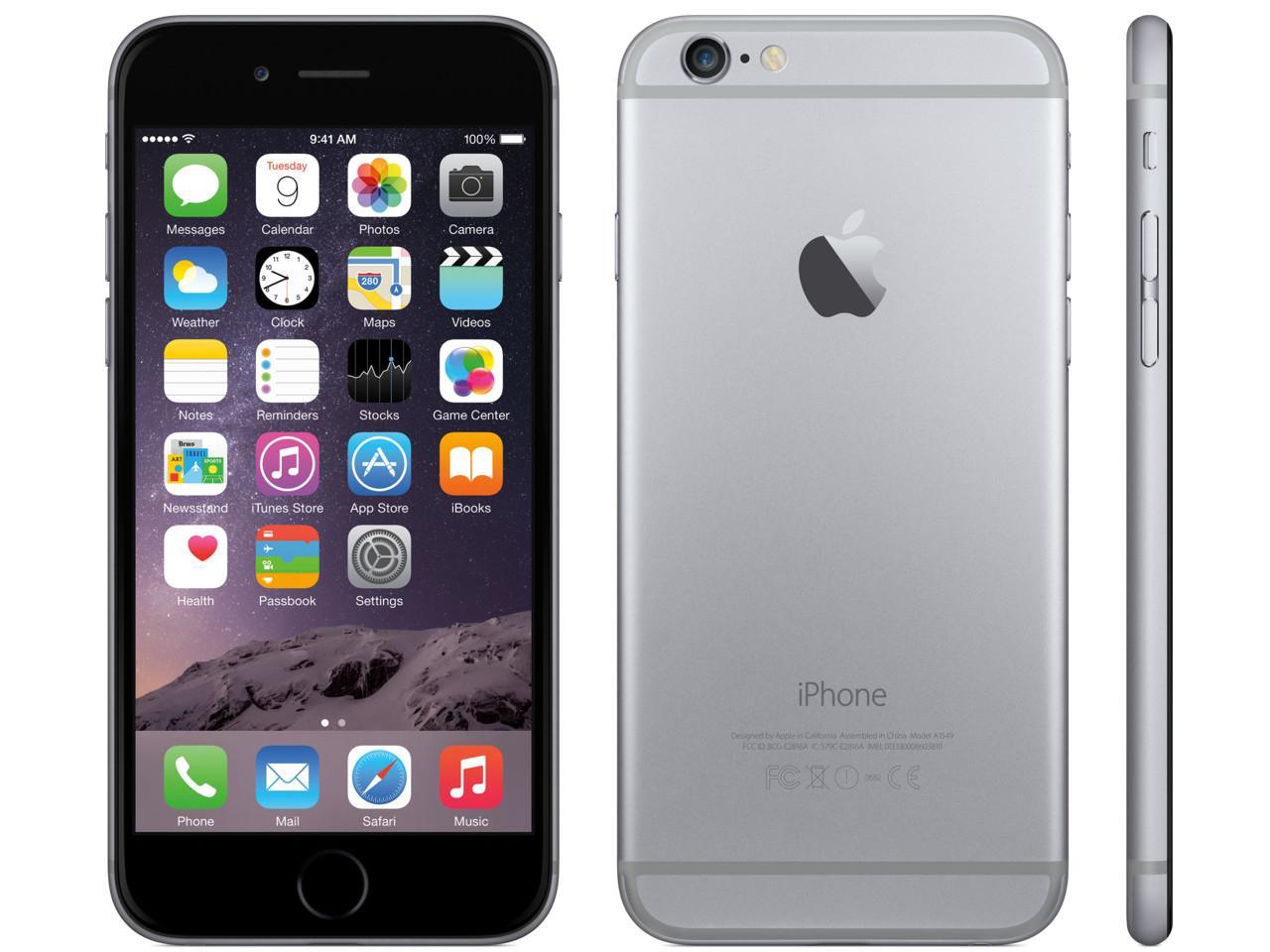 APPLE iPhone 6 Plus, 128 GB, šedý + 500 Kč na dárky nebo další nákup | CHAT on-line podpora PO-PÁ 8-22.00!!