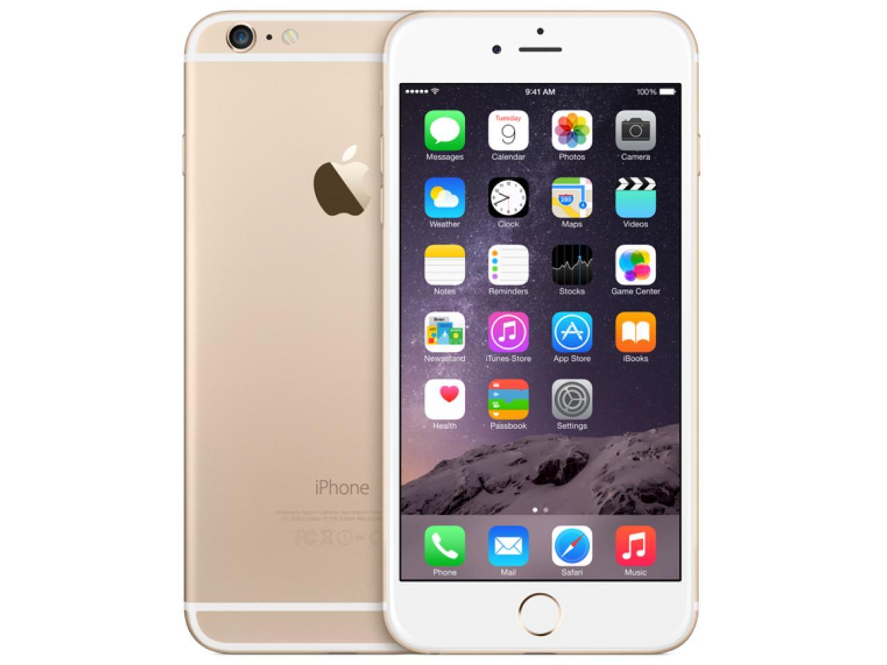 APPLE iPhone 6 Plus, 16 GB, zlatý + 400 Kč na dárky nebo další nákup | CHAT on-line podpora PO-PÁ 8-22.00!!