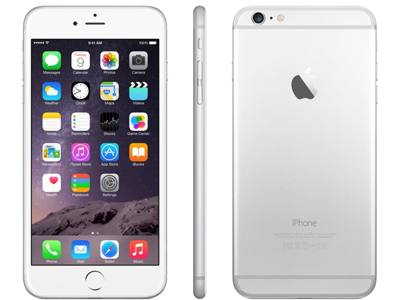 APPLE iPhone 6 Plus, 64 GB, stříbrný + 500 Kč na dárky nebo další nákup | CHAT on-line podpora PO-PÁ 8-22.00!!