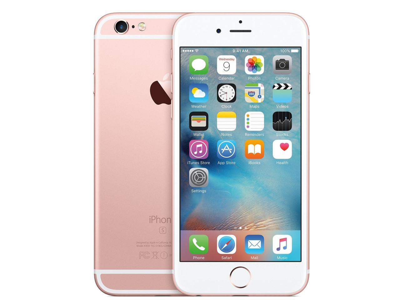 APPLE iPhone 6S, 128 GB, růžově zlatý, CZ distribuce + 400 Kč na dárky nebo další nákup | CHAT on-line podpora PO-PÁ 8-22.00!!