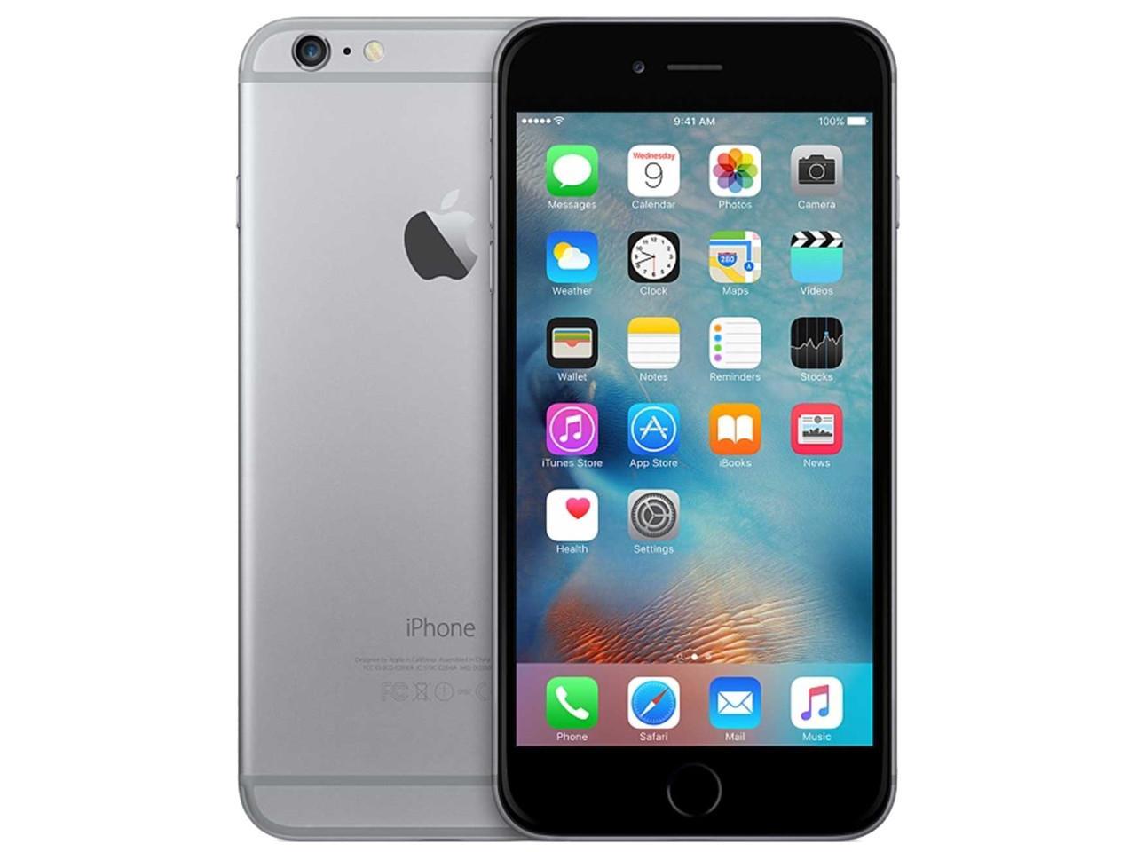 APPLE iPhone 6S, 128 GB, šedý