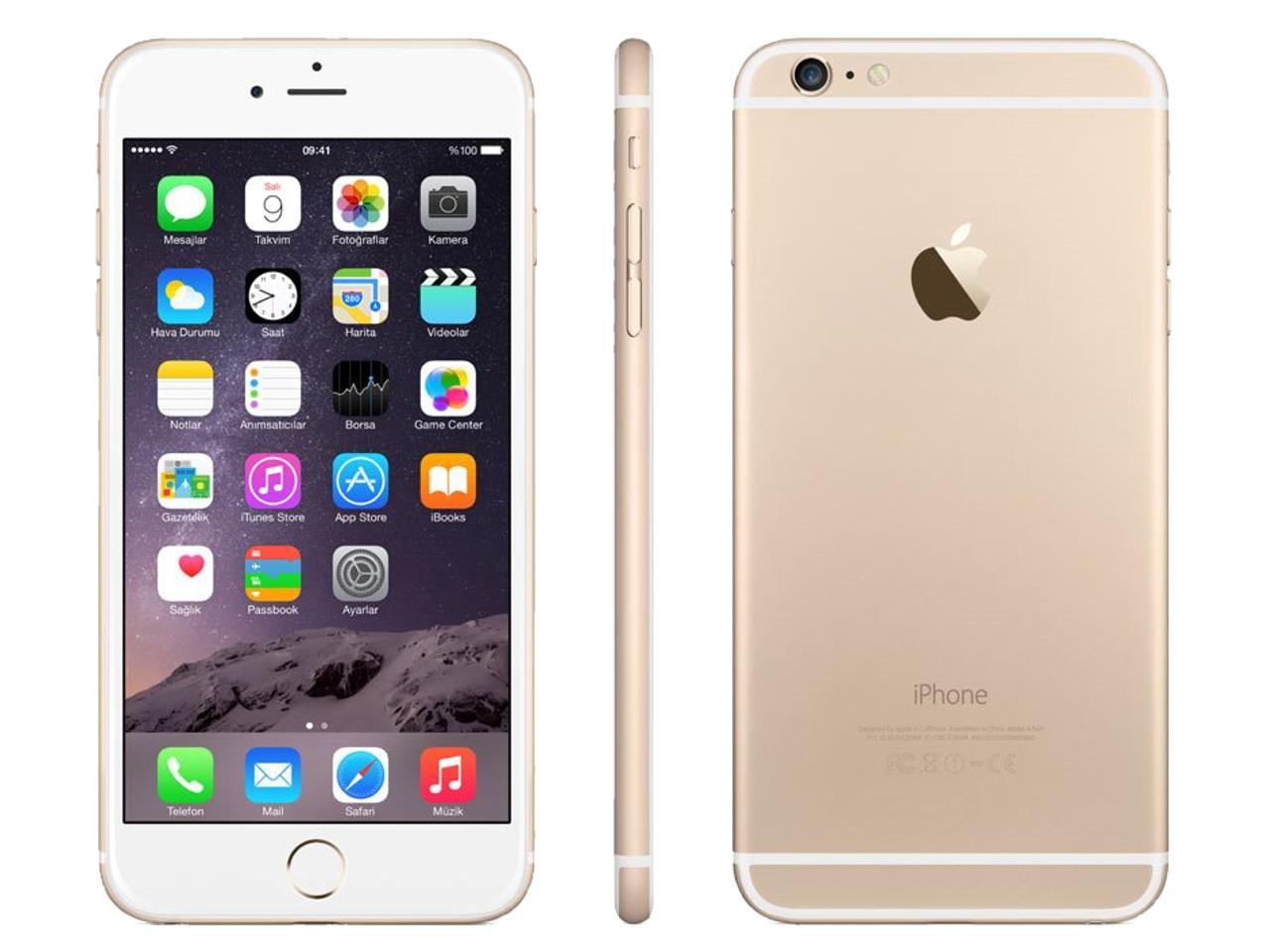 APPLE iPhone 6S Plus, 16 GB, zlatý + 500 Kč na dárky nebo další nákup   CHAT on-line podpora PO-PÁ 8-22.00!!