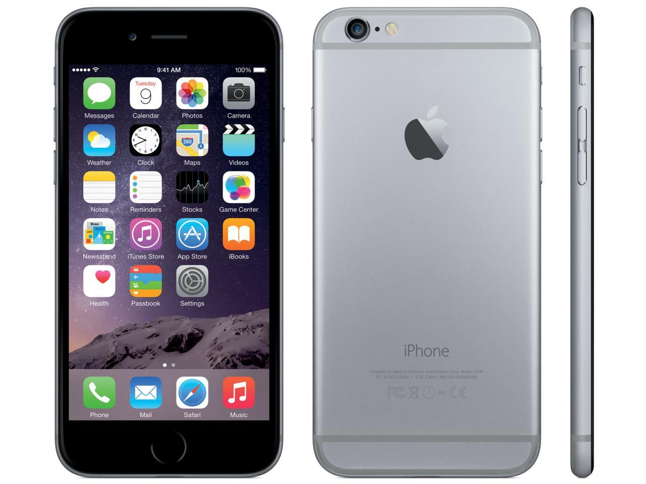 APPLE iPhone 6S Plus, 32GB, šedý, CZ distribuce