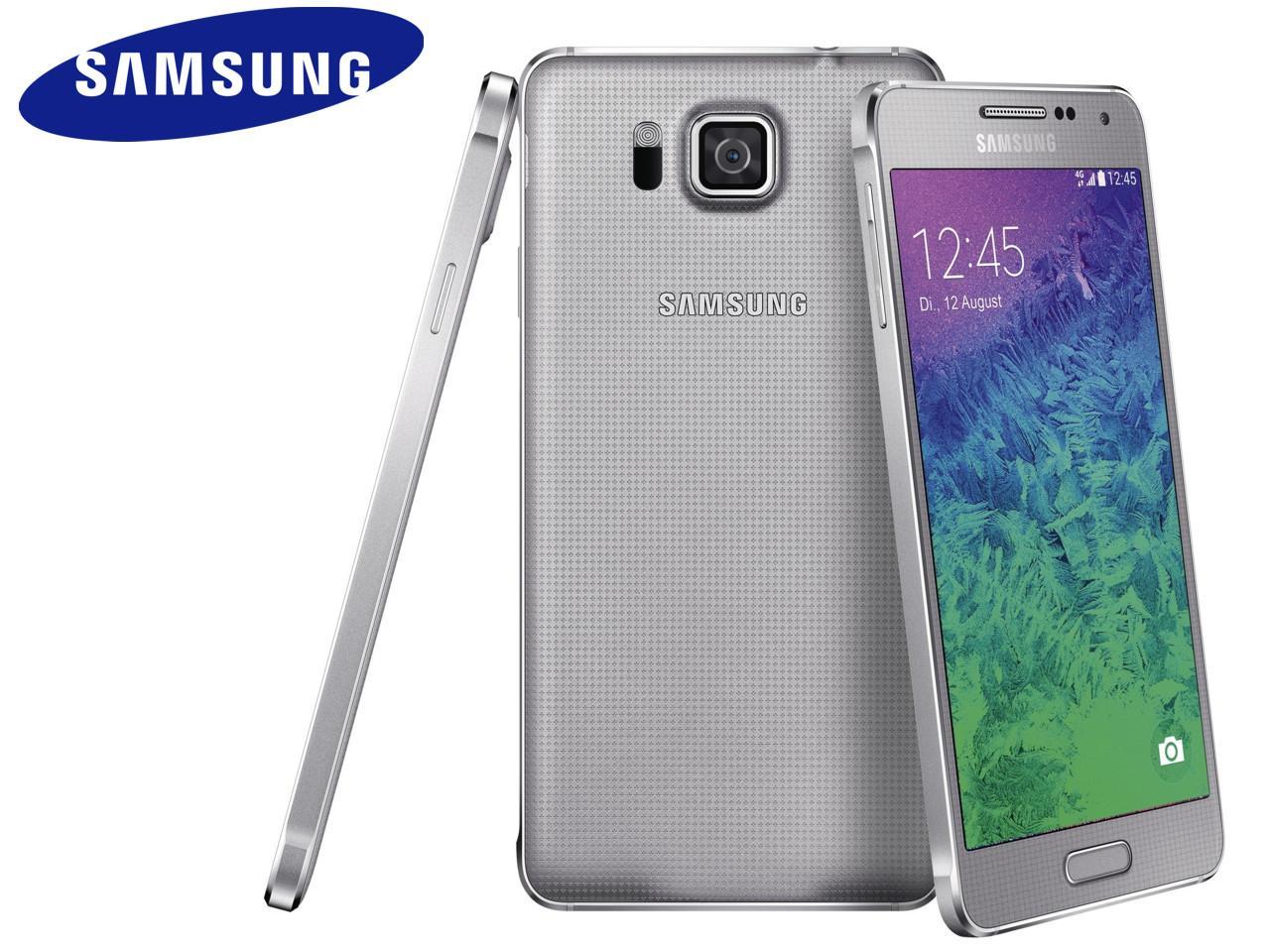 SAMSUNG Galaxy Alpha (SM-G850F), 32 GB, stříbrný + 300 Kč na dárky nebo další nákup | CHAT on-line podpora PO-PÁ 8-22.00!!