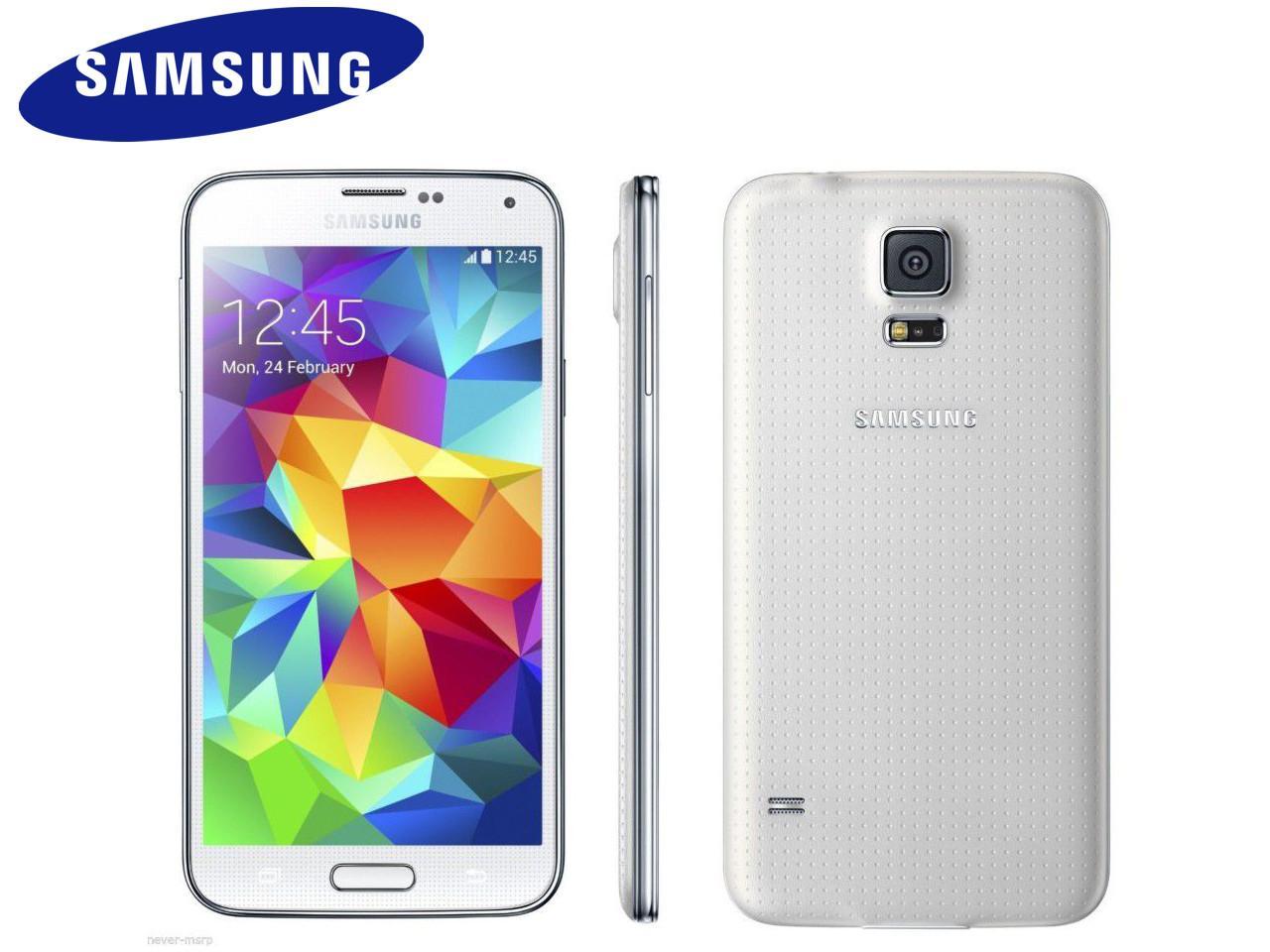 SAMSUNG Galaxy S5 (SM-G900F), 16 GB, bílý + 300 Kč na dárky nebo další nákup | CHAT on-line podpora PO-PÁ 8-22.00!!