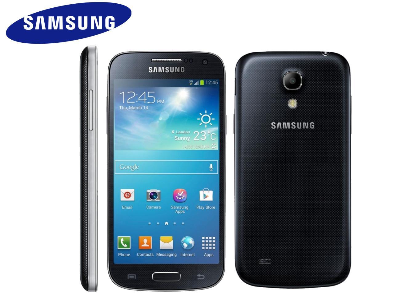 SAMSUNG Galaxy S4 mini (GT-I9195), 8 GB, černý + 200 Kč na dárky nebo další nákup | CHAT on-line podpora PO-PÁ 8-22.00!!