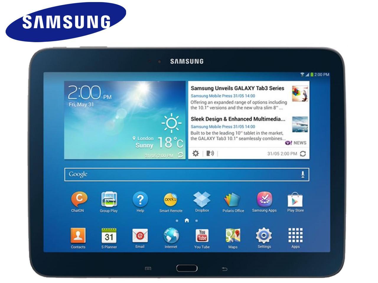SAMSUNG Galaxy Tab 3, 10.1 WiFi (GT-P5210), černý + 200 Kč na dárky nebo další nákup | CHAT on-line podpora PO-PÁ 8-22.00!!