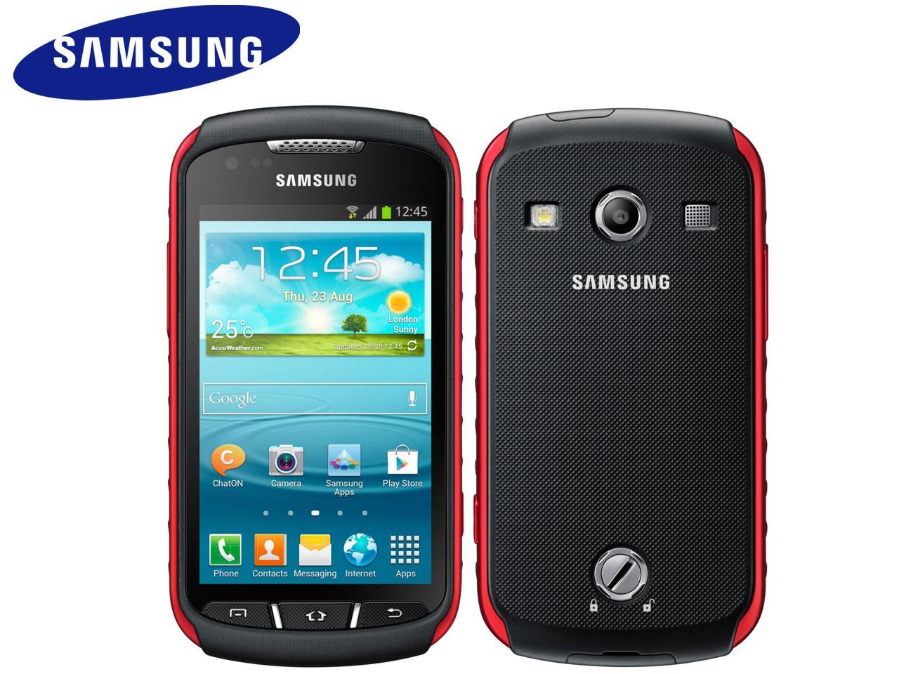 SAMSUNG Galaxy Xcover 2 (GT-S7710), 4 GB, černočervený + 200 Kč na dárky nebo další nákup   CHAT on-line podpora PO-PÁ 8-22.00!!