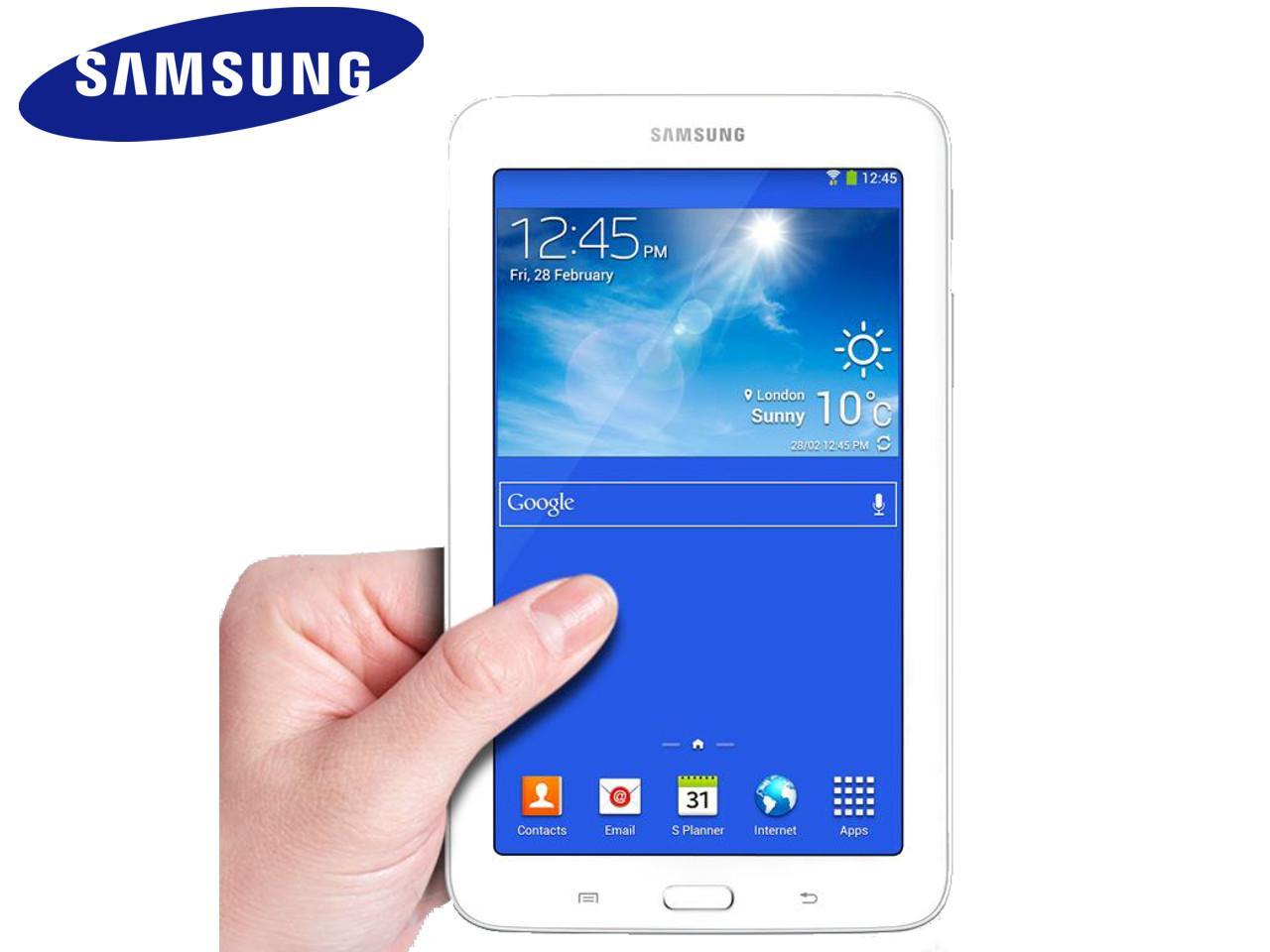 SAMSUNG Galaxy Tab 3 Lite, 7.0 3G (SM-T111), bílý + 100 Kč na dárky nebo další nákup | CHAT on-line podpora PO-PÁ 8-22.00!!