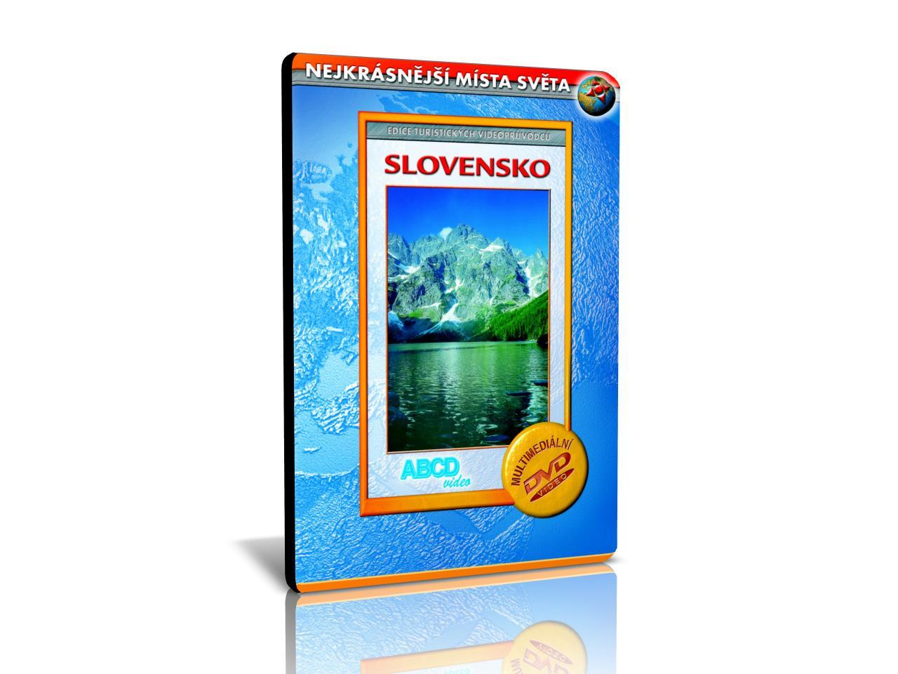 NEJKRÁSNĚJŠÍ MÍSTA SVĚTA: Slovensko (MM DVD) | CHAT on-line podpora PO-PÁ 8-22.00!!