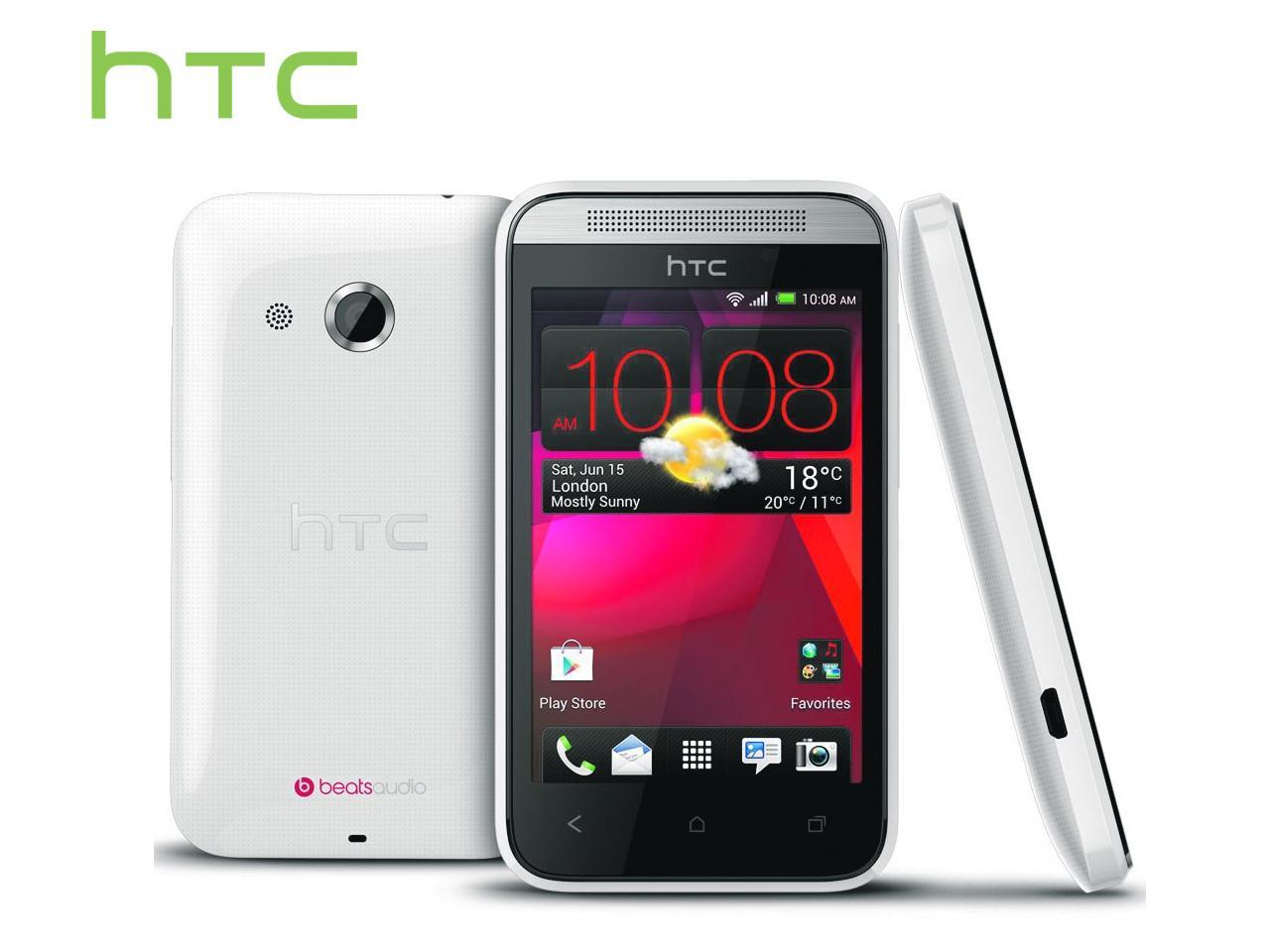 HTC Desire 200, bílý + 100 Kč na dárky nebo další nákup   CHAT on-line podpora PO-PÁ 8-22.00!!