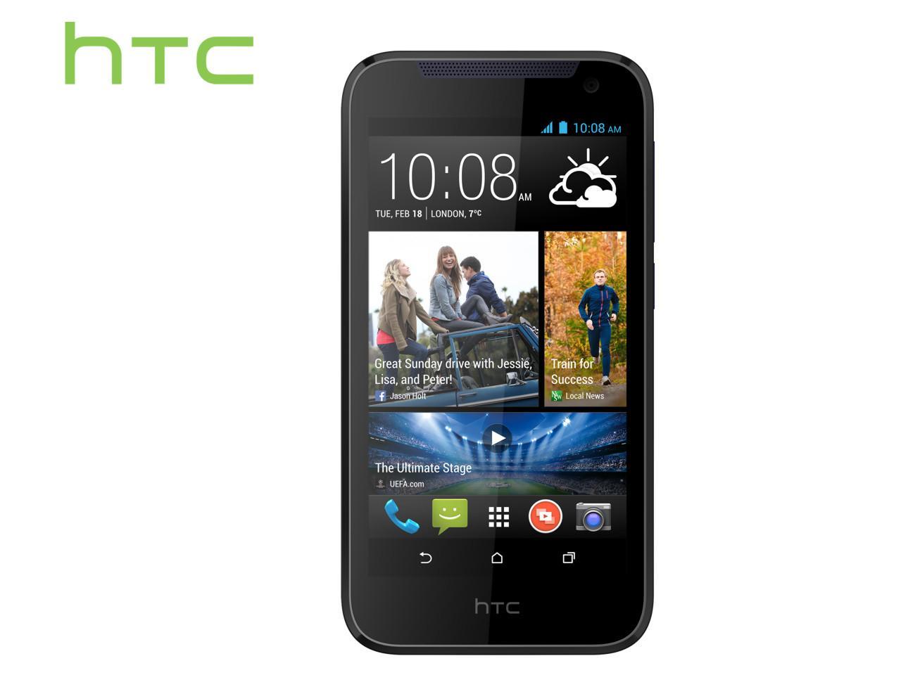 HTC Desire 310, modrý + 100 Kč na dárky nebo další nákup | CHAT on-line podpora PO-PÁ 8-22.00!!