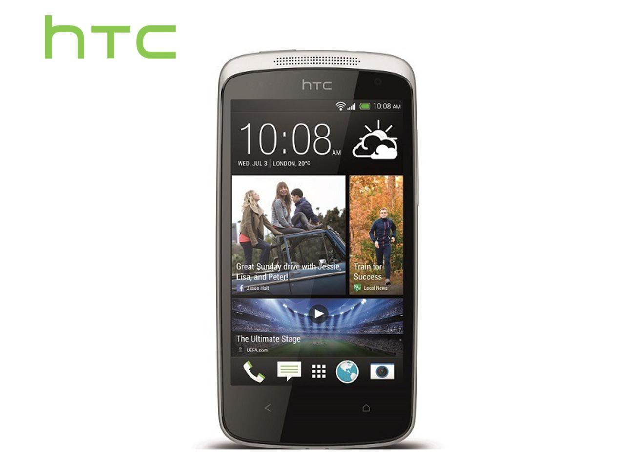 HTC Desire 500, bílý + 100 Kč na dárky nebo další nákup | CHAT on-line podpora PO-PÁ 8-22.00!!