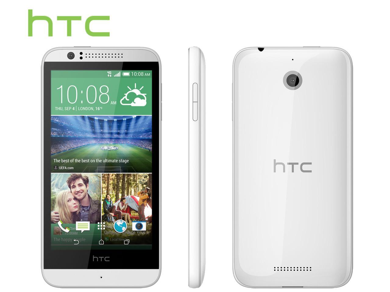 HTC Desire 510, bílý + 100 Kč na dárky nebo další nákup   CHAT on-line podpora PO-PÁ 8-22.00!!