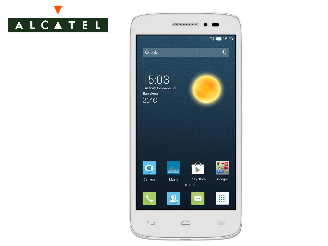 ALCATEL OneTouch Pop 2, bílý | CHAT on-line podpora PO-PÁ 8-22.00!!