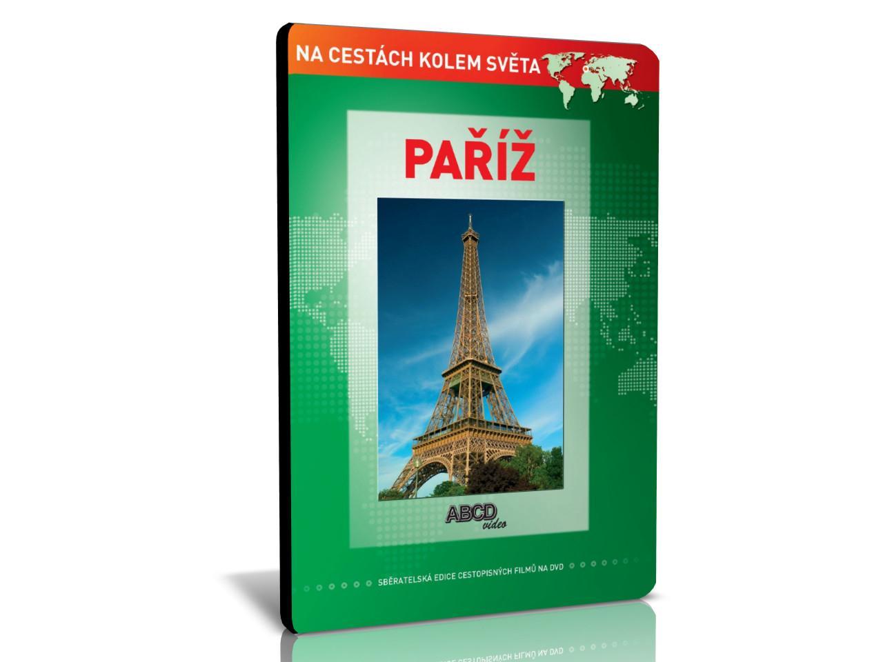 NA CESTÁCH KOLEM SVĚTA: Paříž (DVD)