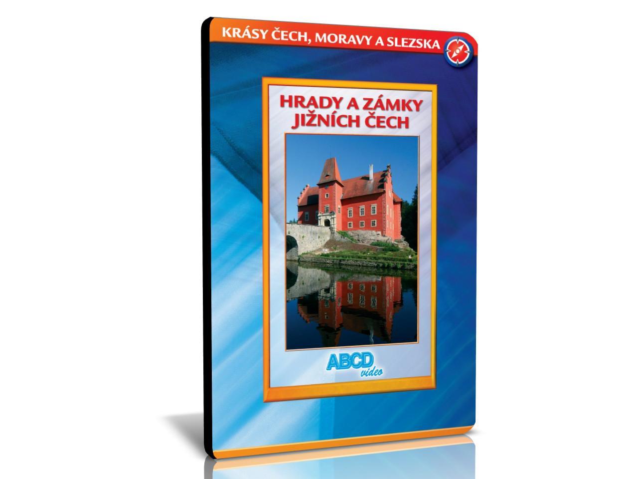 KRÁSY ČECH, MORAVY A SLEZSKA: Hrady a zámky Jižních Čech (DVD)