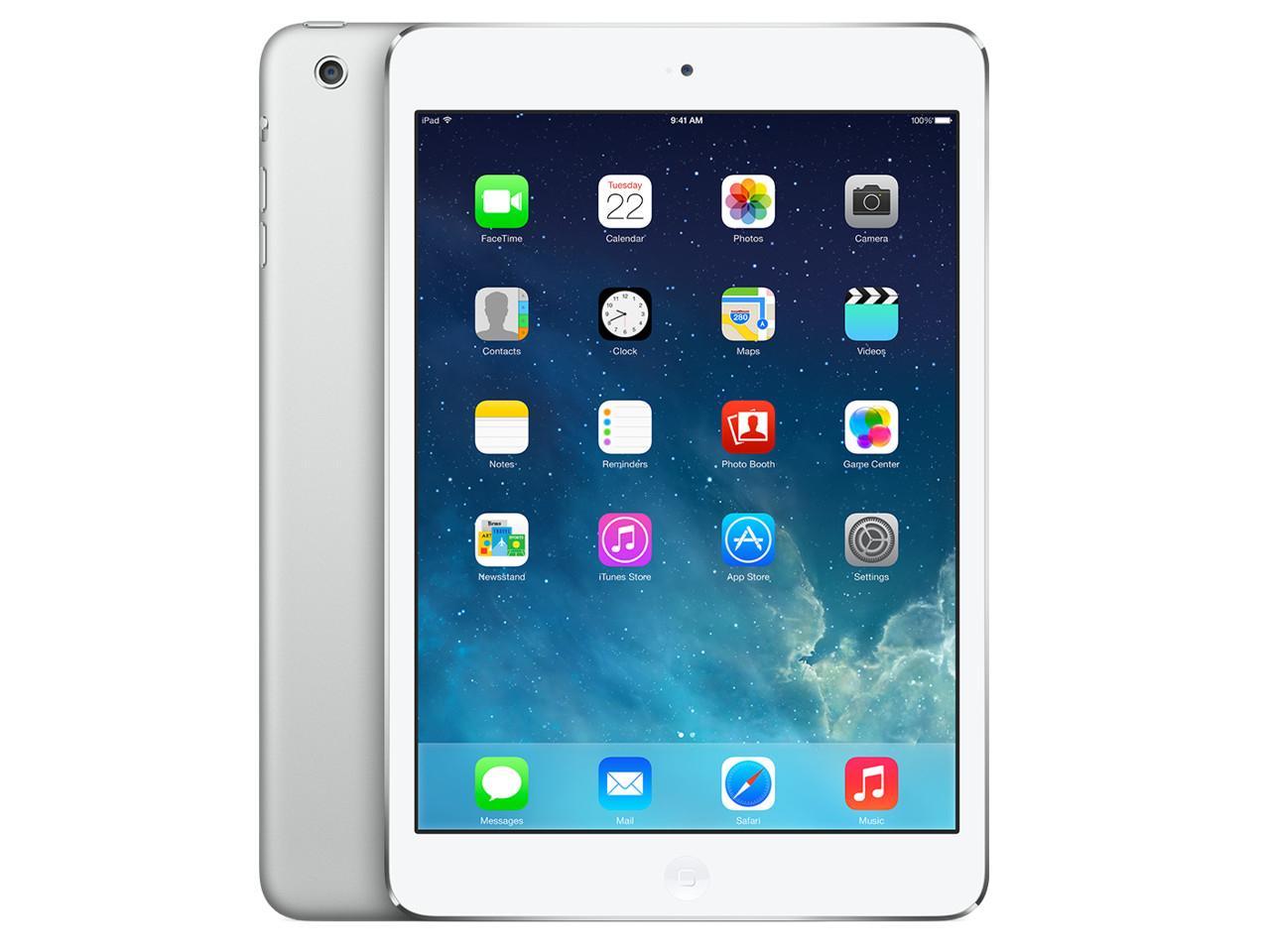 APPLE iPad Mini 2 WiFi + Cellular, 64 GB, stříbrný + 400 Kč na dárky nebo další nákup | CHAT on-line podpora PO-PÁ 8-22.00!!