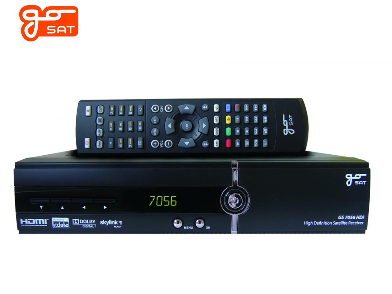 GoSAT GS-7056 HDi + 100 Kč na dárky nebo další nákup | CHAT on-line podpora PO-PÁ 8-22.00!!