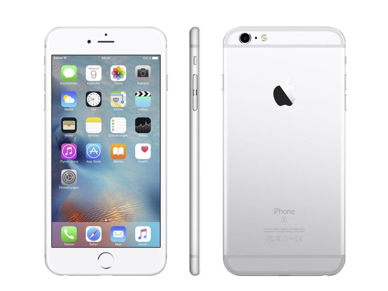 APPLE iPhone 6S Plus, 16 GB, stříbrný + 500 Kč na dárky nebo další nákup | CHAT on-line podpora PO-PÁ 8-22.00!!