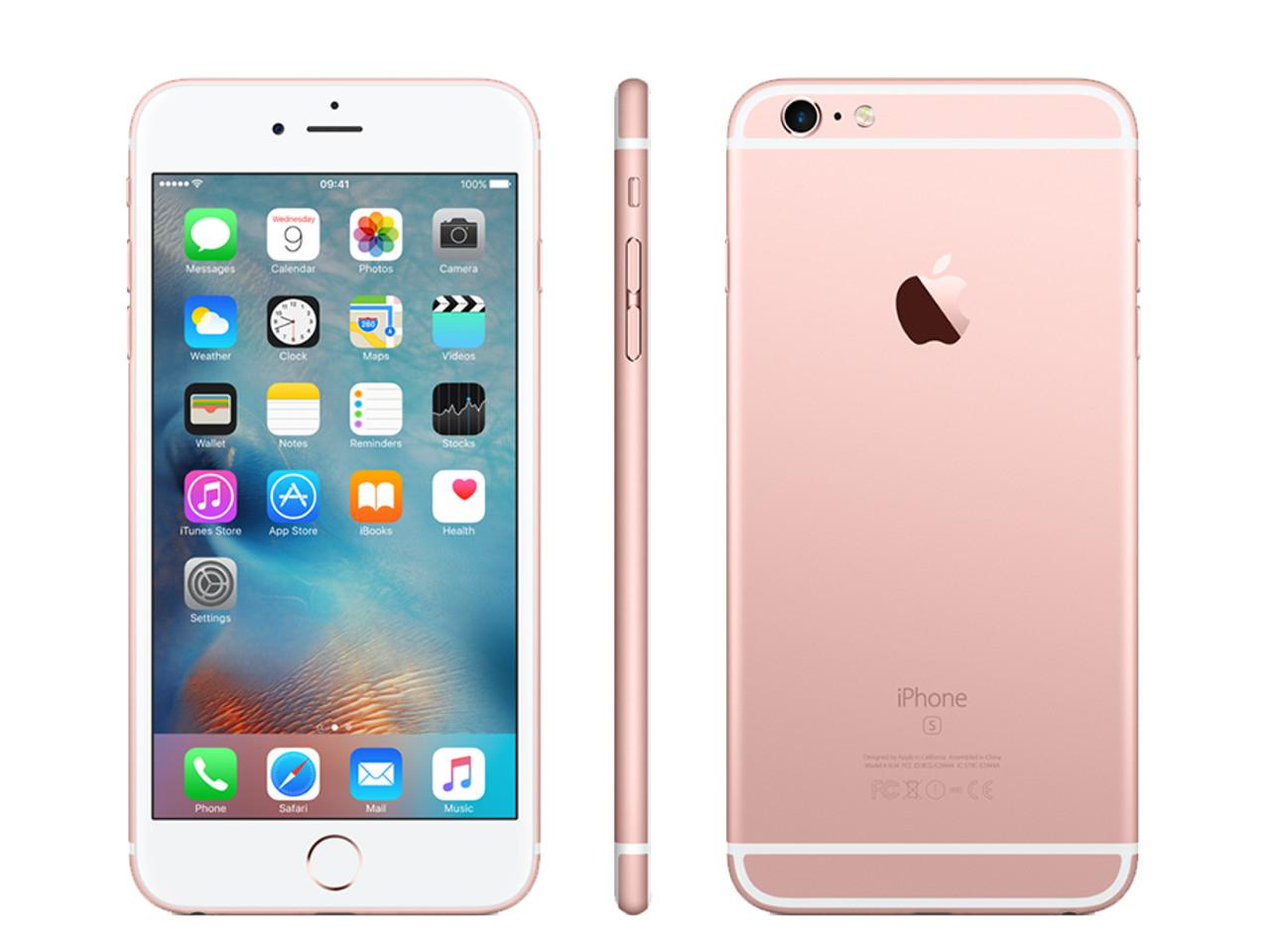 APPLE iPhone 6S Plus, 64 GB, růžově zlatý + 700 Kč na dárky nebo další nákup | CHAT on-line podpora PO-PÁ 8-22.00!!