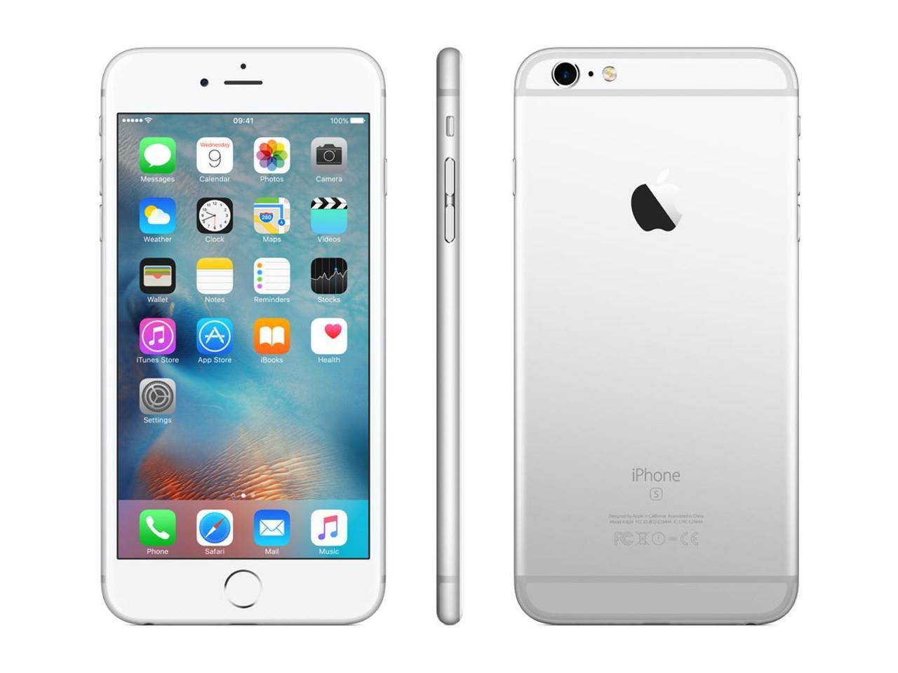APPLE iPhone 6S, 64 GB, stříbrný + 500 Kč na dárky nebo další nákup | CHAT on-line podpora PO-PÁ 8-22.00!!